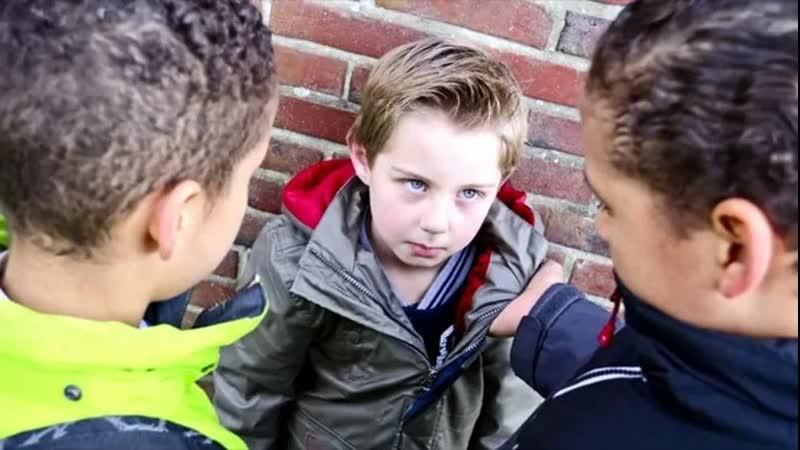 Незадачливый гопник нарвался не на того школьника