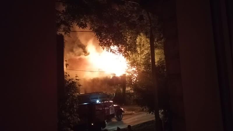 пожар на Столетова