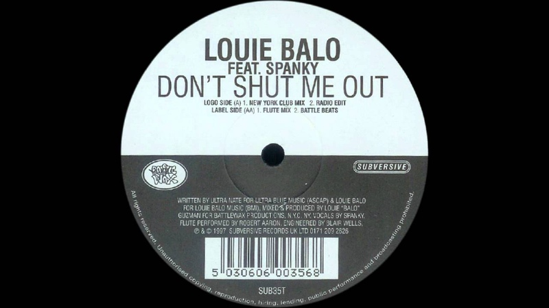 Louie Balo Guzman - Don't Shut Me Out.