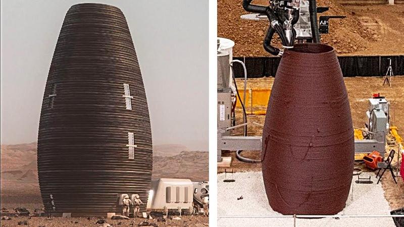 Дома для Марса получившие приз от NASA $500 000
