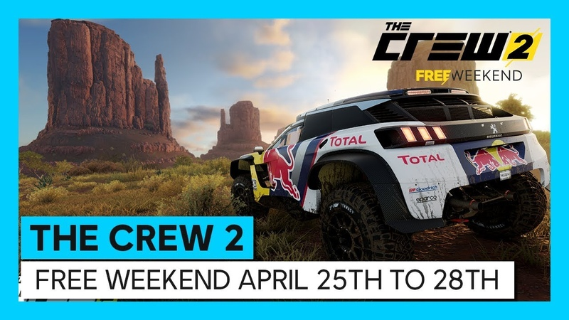 THE CREW 2 PLAY FOR FREE UNTiL APRiL ......