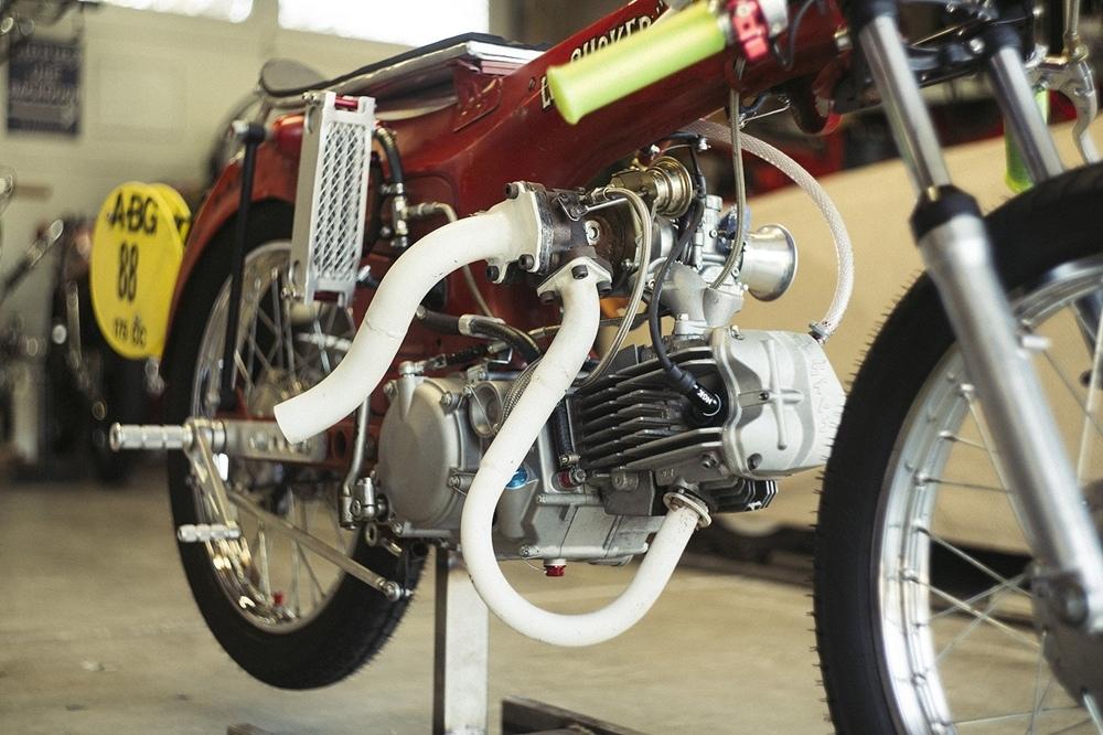 Кастом Honda S65 Turbo 1967