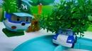 Vídeo de carros infantiles El coche de policía necesita ayuda Juegos con juguetes para niños