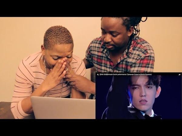 Africans React to Dimash Sochi Peformance: Грешная Страсть(Sinful Passion) | REACTION