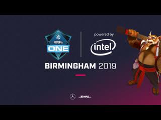 Secret vs og, vg vs gambit, esl one birmingham 2019, playoff
