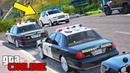 Полицейские погони (догонялки) - Rolls Royce Cullinan уходит от полиции на Ford Crown Victoria!