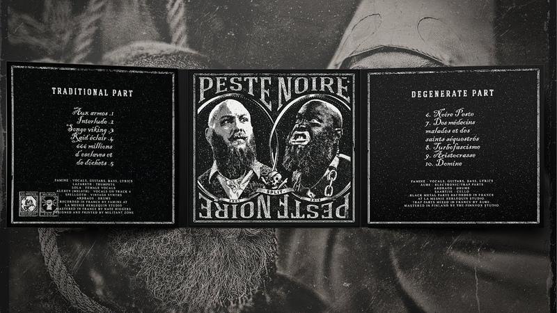 PESTE NOIRE - split - PESTE NOIRE (full album, 2018)
