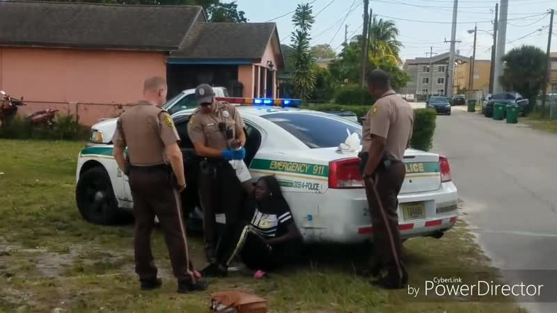 BATTERED, INJURED BY BOYFRIEND! HANDCUFFED INTERROGATED BY MIAMI DADE PD!