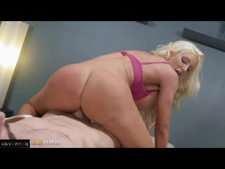 Charles Dera & Nicolette Shea [ Massage &  Big boobs / Between boobs, Skirt, Shaved, Riding dick, Cumshot in mouth, Twerk