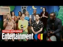 Supergirl Stars Melissa Benoist, Chyler Leigh Cast LIVE | SDCC 2019 | Entertainment Weekly