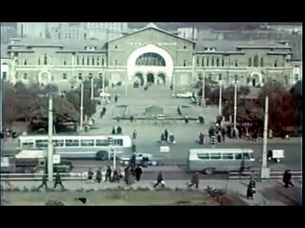 Кишинев в 1972 году. Видовые фрагменты документального фильма киностудии Молдовафильм.