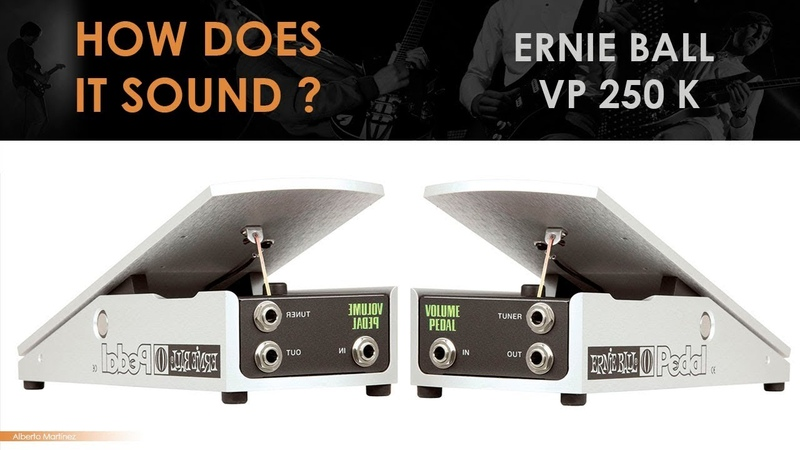 Ernie Ball 250K MONO VOLUME PEDAL
