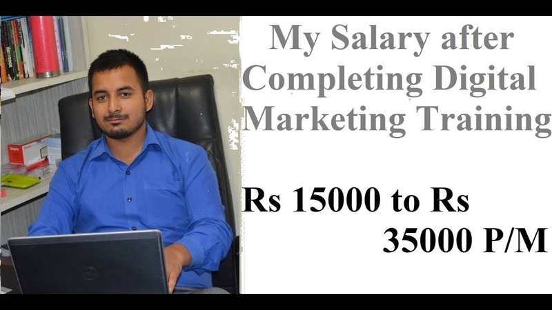 Salary After Completing Digital Marketing Course by DigitalSudhir