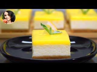 Лимонная Вкуснятина (Ингредиенты под видео) | Больше рецептов в группе Десертомания
