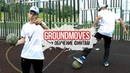 GROUNDMOVES TUTORIALS / ОБУЧЕНИЕ ФИНТАМ / PANNA STREET FOOTBALL TRICKS