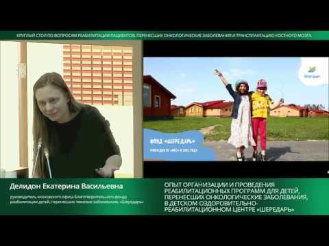 Опыт организации и проведения реабилитационных программ для детей (ДОРЦ «Шередарь»)