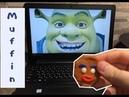 Kluna tik Пряничный человек Шрек Muffin Ужин 3 | ASMR Sounds | есть звуки нет разговора Kluna tik