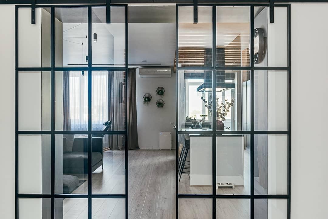 Стильный дизайн кухни - гостиной Ждем критику)