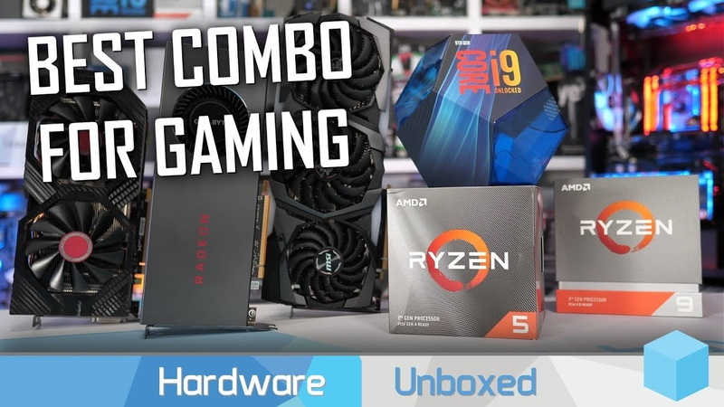 [EN] Ryzen 5 3600 vs. Ryzen 9 3900X vs. Core i9-9900K: тест с видеокартами разной производительности