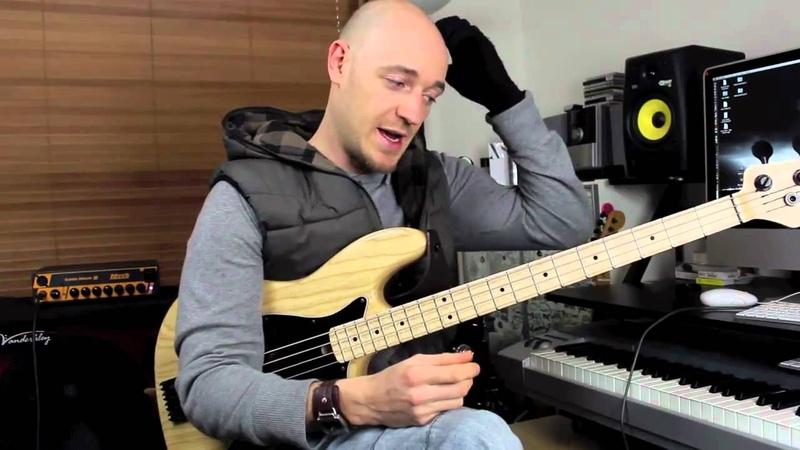 Using Pentatonic Scales 3 - Bass Lesson with Scott Devine (L52)