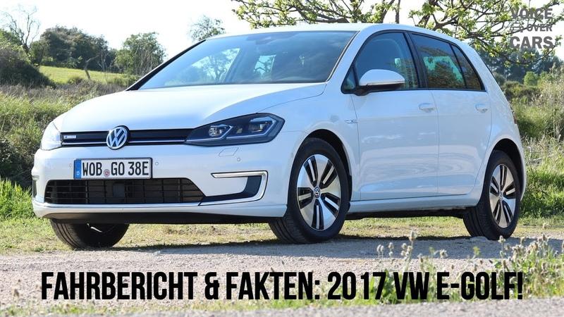 2017 VW e-Golf Fahrbericht Elektroauto Reichweite Verbrauch Kosten Alternativen Voice over Cars