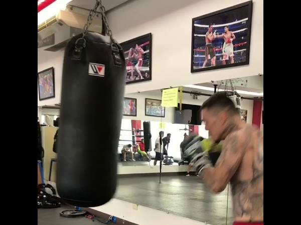 Manny Pacquiao Sparring Partner George Kambosos Jr Shows Super Human Speed