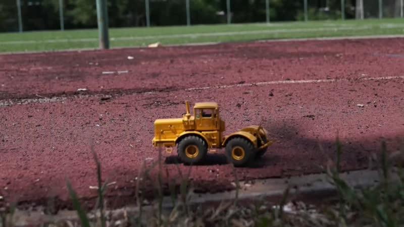 Трактор К-701 на РУ в масштабе 143
