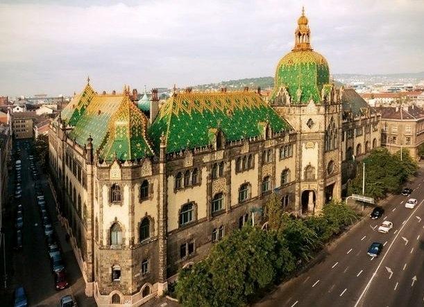Музей прикладного искусства в Будапеште.