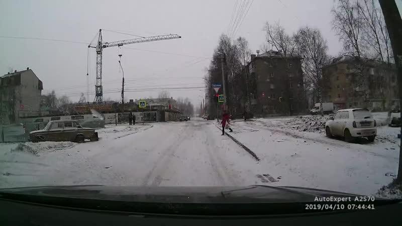 Архангельск. А как же светофор?