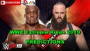 WWE Extreme Rules 2019 Braun Strowman vs Bobby Lashley Last Man Standing Match Predictions WWE 2K19