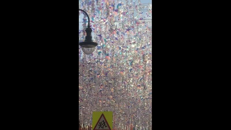 Вот бы так в Смоленске украсили улицы города Москва Сказочная и Волшебно Восхитительная