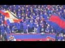 Фан-сектор на матче СКА-Спартак