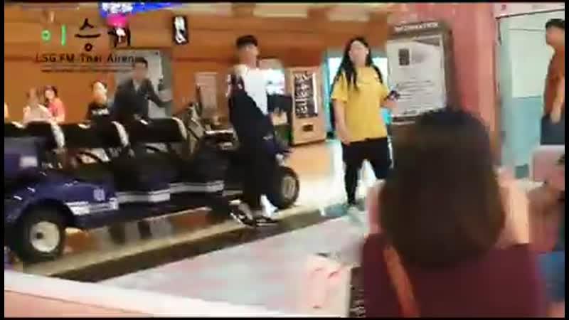 19 07 21 Lee Seung Gi Taoyuan Airport Fancams 3
