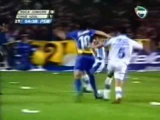 2001 Boca Juniors vs. Cruz Azul