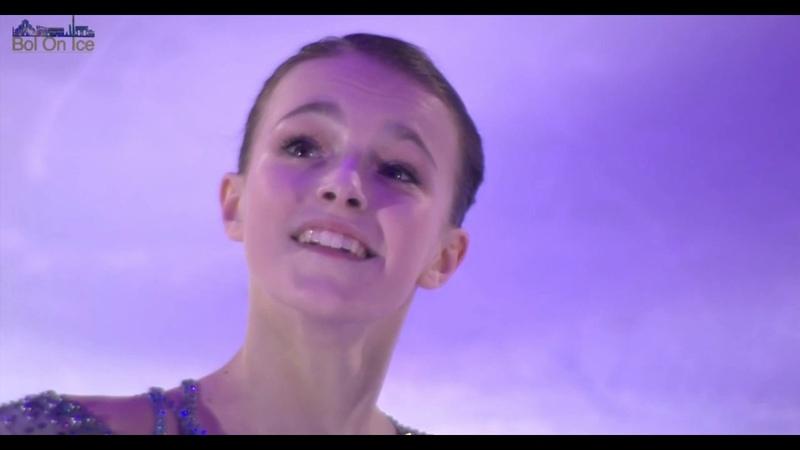 "Анна Щербакова. Шоу ""Bol On Ice"" 04.05.2019 (Болонья, Италия)"