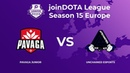 Pavaga Junior vs Unchained Esports | Joindota league 15