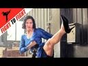 [EXCULUSIVE] KARATE CATFIGHT, HEADSCISSORS, Asian Female Fight Scene, Strong Legs, High Heels