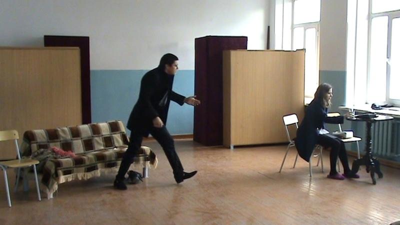 У Гибсон Двое на качелях зачет по актерскому мастерству отрывки из пьес 3курс 2015