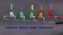 How to make a Battery Level indicator, battery volt level indicator