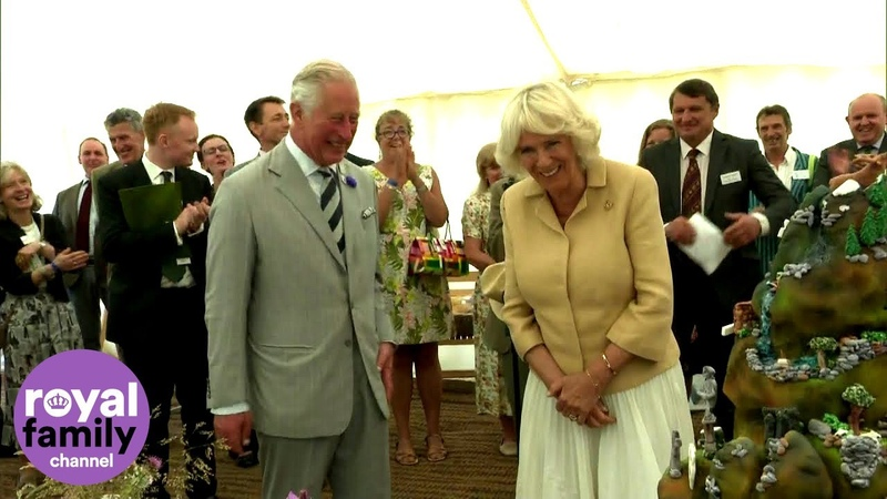 Camilla Celebrates Birthday with Prince Charles at Exmoor Big Picnic
