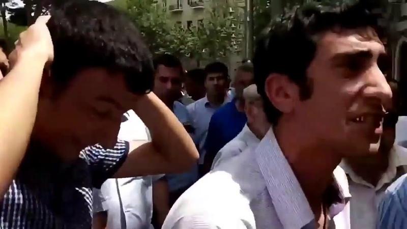 Голод и безработица в Азербайджане.