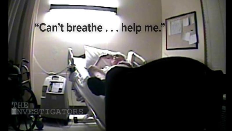 Hidden camera tells true story of how veteran died in nursing home