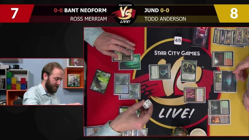 VS Live! | Bant Neoform VS Jund | Modern | Match 3