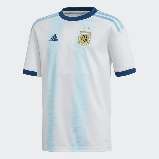 Домашняя игровая футболка сборной Аргентины