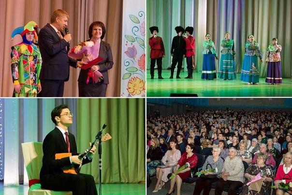 Концерт честь Дня работника культуры в ДК им. И.И. Наймушина