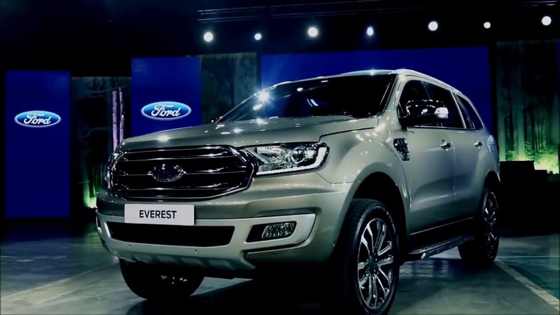 Ford Everest 2019 - khỏe khoắn và thể thao