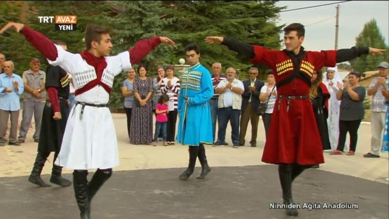 Konyadaki Karaçaylı Gençlerin Halk Dansları - Ninniden Ağıta Anadolum - TRT Avaz