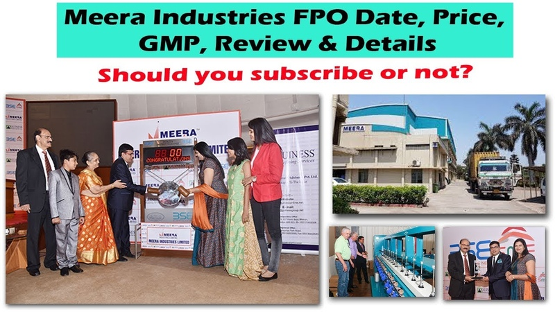 Meera Industries FPO Date, Price, GMP, Review Details
