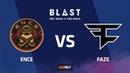 ENCE vs FaZe, nuke, BLAST Pro Series Sao Paulo 2019
