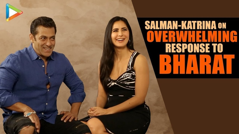 Salman Katrina On SUCCESS Of Bharat | Team Work | Supporting Star Cast | Best Compliment